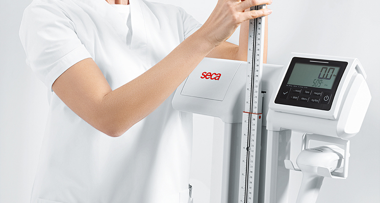 seca 797 - EMR validated column scale with eye-level display and Wi-Fi function #3