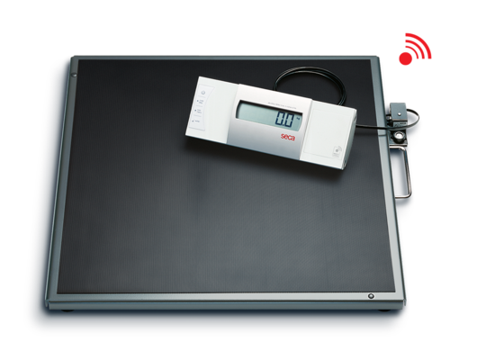 seca 634 - Digital platform and bariatric scale with wireless transmission #0