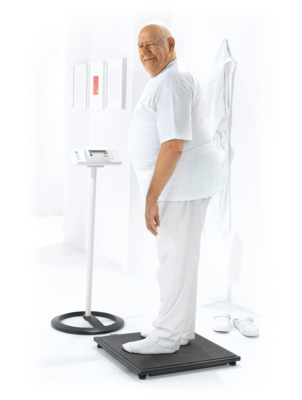 seca 634 - Digital platform and bariatric scale with wireless transmission #1