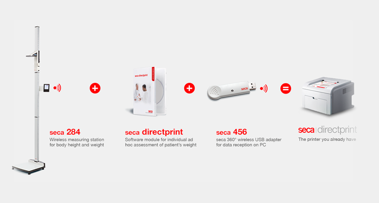 seca directprint - Software module for individual assessment of patient's weight #8