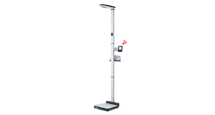 seca 286 - EMR ready ultrasonic measuring station for height and weight with voice guidance #4