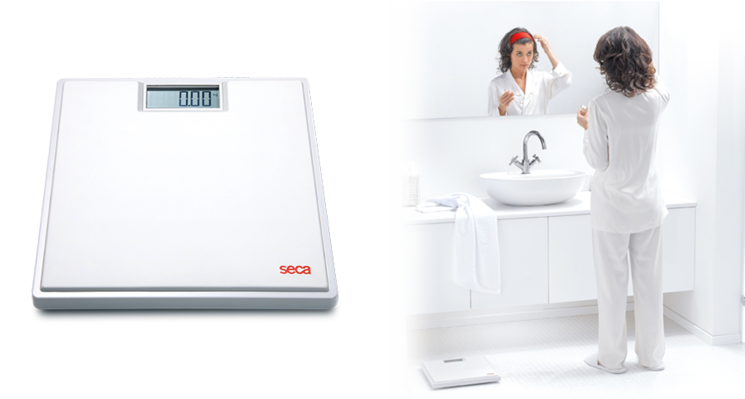 seca 803 - Digital flat scale with high-quality two-component rubber surface #3