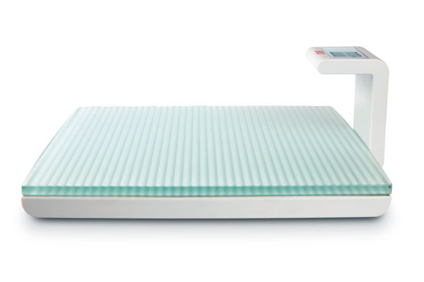 seca 817 - Digital flat scale with glass platform for individual patient use #1