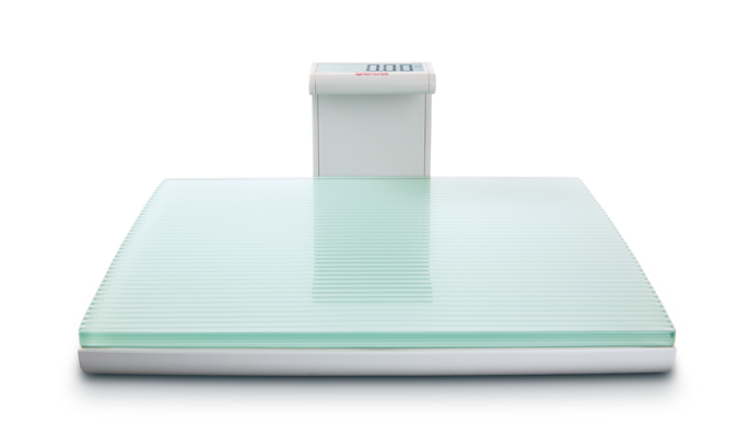seca 817 - Digital flat scale with glass platform for individual patient use #3