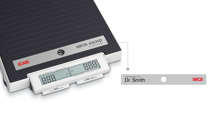 seca 874 dr - Its name speaks for itself: the seca doctor scale #1