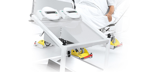 Accessories for bed and dialysis scales