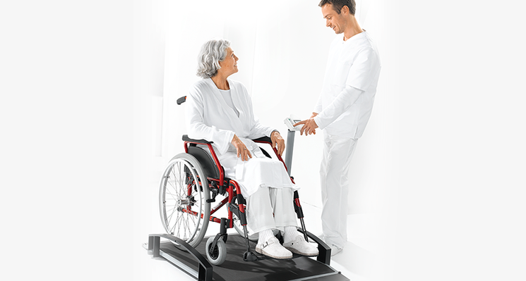 seca 664 - EMR ready electronic wheelchair scale #2