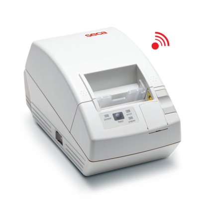 seca 466 - Wireless printer advanced for reception, analysis and printing of measurements on thermal paper or labels #0