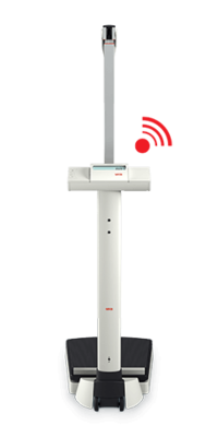 seca 703 s - Wireless column scale with integrated stadiometer #2
