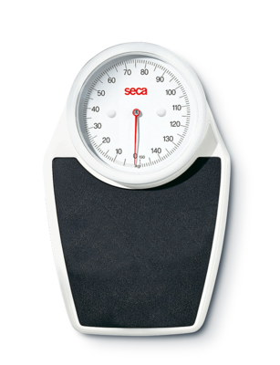 seca 762 - Mechanical personal scale with fine 1 lbs graduation
